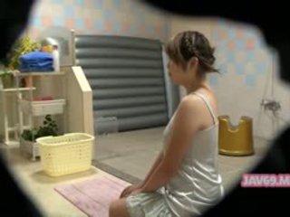 Bello arrapato coreano ragazza having sesso