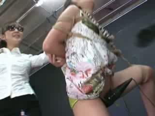 Ayumi gets nakatali at tortured
