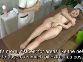 Subtitled enf cfnf japońskie lesbijskie clitoris masaż clinic