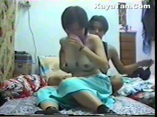 Malay סיני זוג סקס תחת חבוי מצלמת