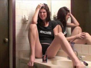 Doigtage salle de bain giclement 1