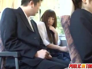 japanese, offentlig sex, omvendt cowgirl
