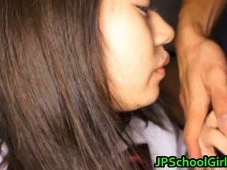 Group of jepang schoolgirls get bayan lesson