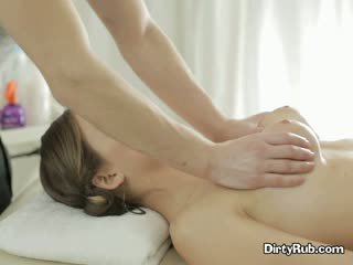 fresh brunette rated, blowjob, massage most
