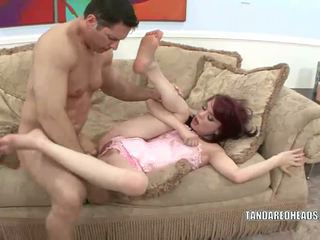 Redhead coed jessi palmer getting knullet