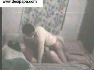 Indiano pair secretly filmed dentro loro stanza da letto