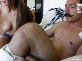 Porno mexicano, velho inventor evert geinstein fucks quente ginger jovem grávida!