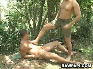 Papi гей анално pounding с cumshots