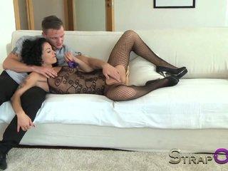 depërtimit të dyfishtë, lodra seksi, strapon