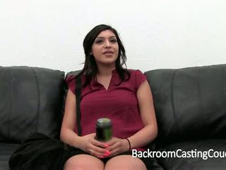 young, couch, cum