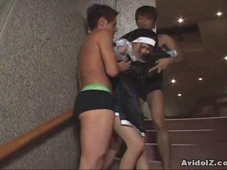 יפני בייב כפוי ל למצוץ זין uncensored