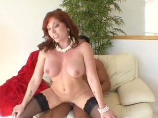 Hawt Mom BRittany Oconnell Gets Her Cookie Stabbed Hard With The Massive Erect Tackle