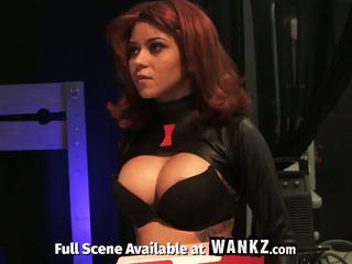 Assvengers porn paródia - episode én: emelkedik a a hardon!