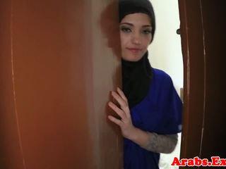 Árabe amateur beauty pounded para efectivo, porno 79