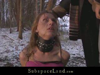 deepthroat, venkovní sex, mučení