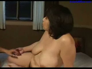 Busty fat milf licked fingered sucking...