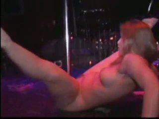 gol, dans, stripper