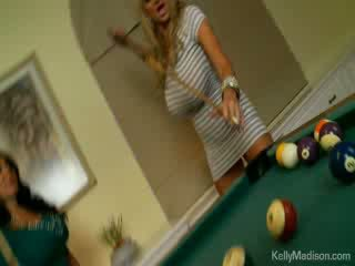 Busty Babes Fucked In The Billiard Roo...
