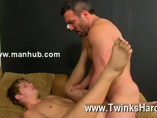 Gay sex When the beefy stud catches Anthony