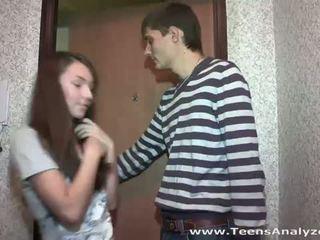Teismeliseiga analyzed: teismeline tüdruksõber agrees kuni anaal seks
