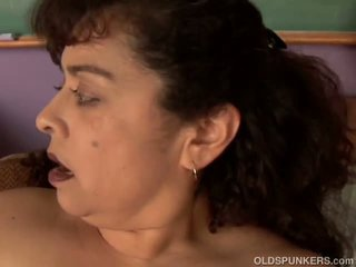 Chunky Old Spunker Loves to Fuck Her Fat Juicy Pussy 4 U