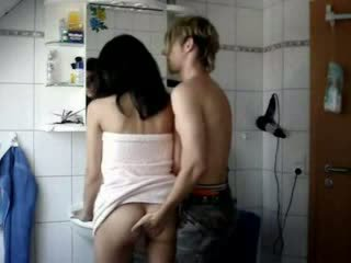 Amateur Teen Fucked Hard In A Bathroom Video