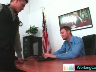 Kirk having panas gay lucah treesome