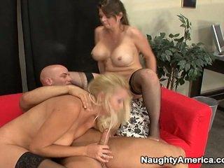 Oustanding tittie cô gái tóc vàng milfs có khiêu dâm 3 một số nearby sons mate