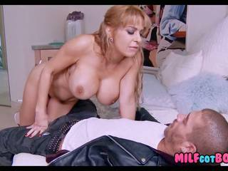 Cougar Fucks Bad Boy: Free Cougar Boy HD Porn Video f6