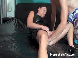 extremo, fetiche, cogida del puño sexo