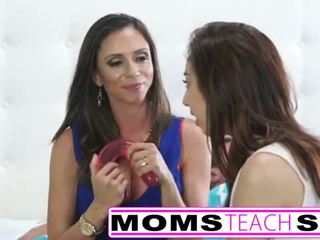 Moms Teach Sex - Step mom fucks daughters boy
