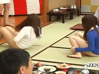 Subtitled bottomless japanisch embarrassing gruppe spiel