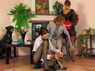 Lesbian Maids Take A Fucking Break Video
