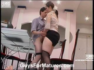 סקס הארדקור, מתבגר, סקס צעיר ישן