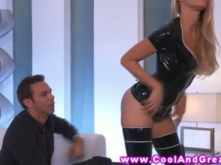 Jessica drake latex fun with her horny...