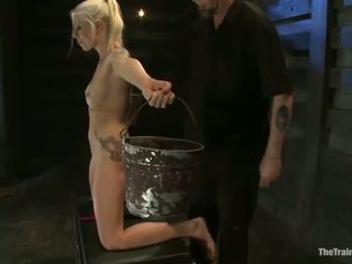 Wrapped And Constrained Up Lorelei Lee Has Brown Tunnel Shaged