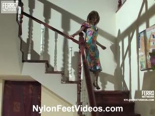 Alice και mike mindblowing καλτσόν πόδια δράση