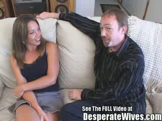 Judy ผู้หญิงสำส่อน wife's sharing session ด้วย สกปรก d