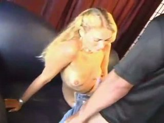 Blonde casting - first time