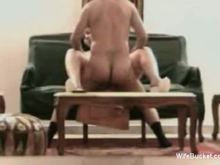Genuine Arab wife homemade sex tape
