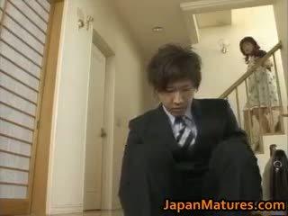 bruneta, japonec, skupinový sex