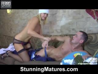 Bridget And Connor Red Sensuous Mature Performance