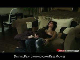 Anissa kate - gražu didelis užpakaliukas lotynų amerikietė gets pakliuvom sunkus ir gilus į jos šikna
