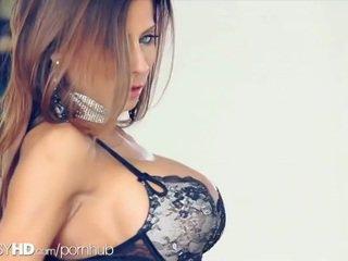 brunete, cunt, big boobs