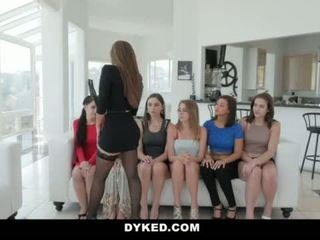 Dyked- Hot Teen Orgy With Sexy Milf <span class=duration>- 10 min</span>