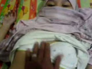 Asian Girl In Hijab Groped & Preparing To Have Sex