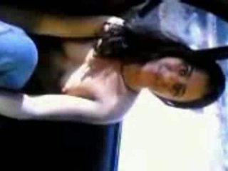 Unseen new mms sex in car with hindi abusive talks by desicl