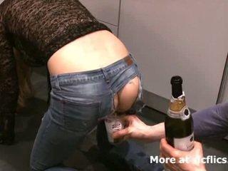 Öklözés én girlfriends szörny gaping seggfej