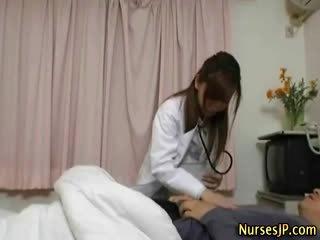 일본의, 이국적인, 간호사
