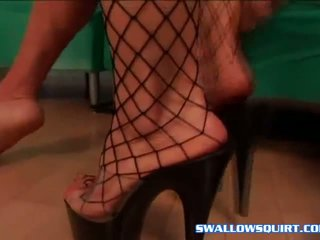 Angela Stone Goddess of squirt jumping on dick